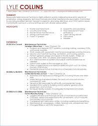 Resume For Mechanical Maintenance Engineer Artemushka Com
