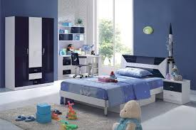 blue kids furniture. Cheap Kids Bedroom Furniture Blue Theme For Children Corner White Drawer Cabinet Laminate Wooden Floor Pull Bed Orange Domination