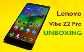 Lenovo Vibe Z2 Pro, the unboxing of ...