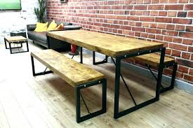 industrial style outdoor furniture. Industrial Outdoor Table Look Coffee Sets Dining . Inspirational Style Furniture