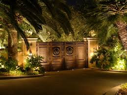 artistic outdoor lighting. santa fe landscape lighting by artistic illumination outdoor m