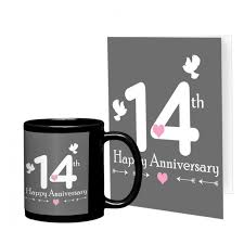 14th marriage anniversary gift for friend collegue relatives brother sister son