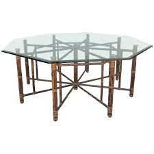 mcguire furniture company noe. rare eight leg vintage mcguire hexagon dining table see more antique and modern room mcguire furniture company noe u