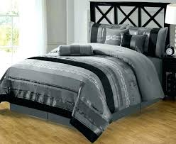 black and silver bedding sets silver duvet cover king photo 4 of black and silver duvet