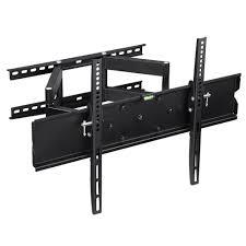 articulating tv wall mount led lcd plasma flat screen bracket tilt swivel fits 40 65