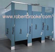 Bathroom Stall Partitions Stunning Toilet Partition Solid Plastic Door Guide Also Known As HDPE