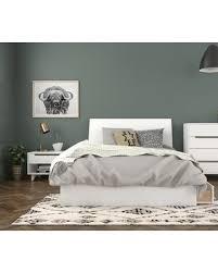 Hot Sale: Mehar Platform 3 Piece Bedroom Set Size: Full, Color: White