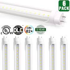 T12 Led Tube Light Buy 6 Pack Hykolity T8 Led Tube Light 4ft 18w 40w