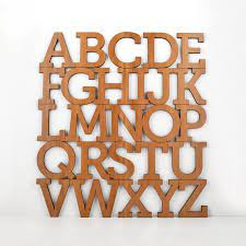 pin on typography letters numbers