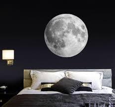 moon wall decal bedroom wall sticker