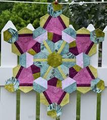 Work in Progress   English paper pieced quilt top The Zen of Making