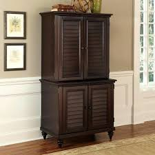 home office armoire. Cabinet Classic Creek Computer Veneer Wood Home Office Armoire Medium Size Of D
