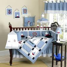 boys nursery bedding sets nautical themed blue baby crib bedding boy nursery  set nautical themed blue