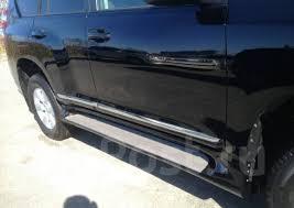 <b>Боковые подножки Toyota</b> Land Cruiser Prado 150 2009-2020 - GT ...