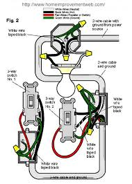 installing a 3 way switch wiring diagrams the home diagram option 2