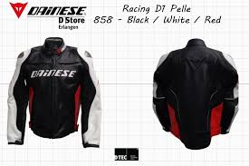 ready for the track original dainese racing d1 pelle professional men motorcycle leather jacket