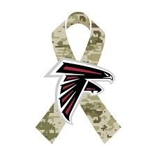 Atlanta Falcons Facebook - Salute To Service
