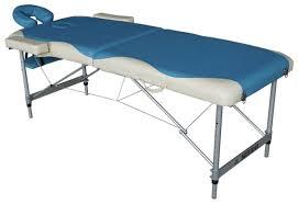 Купить <b>Массажный стол DFC</b> Nirvana Elegant Deluxe, голубой ...