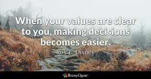 Your Amazing Quotes Impressive When Your Values Are Clear To You Making Decisions Becomes Easier