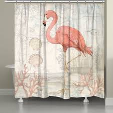 curtains flamingo shower curtain hooks