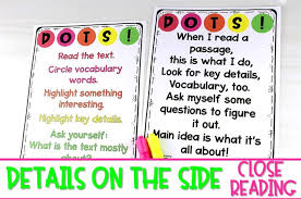 Second Grade Reading Level Chart Close Reading Passages For Kindergarten 1st And 2nd Grade