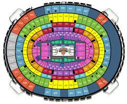 Knicks Stadium Seating Chart Msg Basketball Seating Chart Otvod