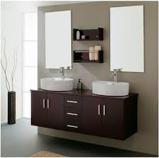 double sink vanity small space. Modern Small Vanity Floating Cabinet For Large Bathroom Space With Double Sinks To Sink
