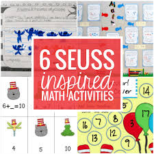 6 Dr Seuss Inspired Math Activities Teach Junkie