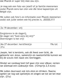 Kalender Hieronder Volgt De Kalender Van September Tot December Pdf