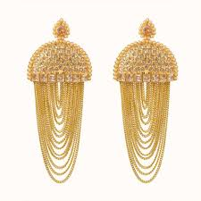 Latest Earring Design With Price Alluring Design Fashion Gold Plated Earring At Reliable