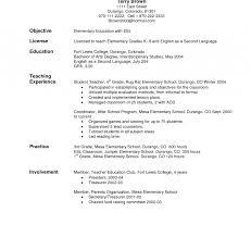 Special Ed Teacher Resume Example Education Resume Sample