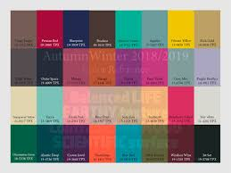 Autumn Winter 2018/2019 trend forecasting is A TREND/COLOR Guide ...