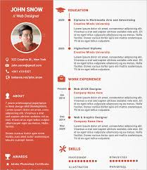 Sample Designer Resume Template 16 Documents In Pdf Psd Web Design