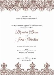 Muslim Wedding Invitation Templates Business Template Ideas