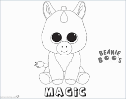 Beanie Boo Coloring Pages That You Can Print Marvelous 17 Best