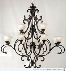20 wrought iron chandeliers home
