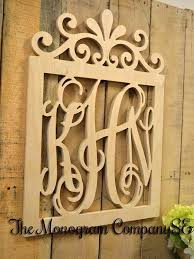 personalized wood wall art new monogram letters wall decor personalized initials wood
