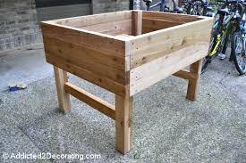 elevated garden beds. Stylish Elevated Raised Bed Garden Plans How To Build An Diy Beds