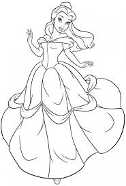 new princess belle coloring pages collection 8 c belle princess coloring pages