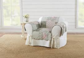 Living room chair covers Wingback Chair Deluxe Heirloom Reversible Chair Furniture Cover Surefit Chair Covers Slipcovers Surefit