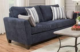7081 sofa loveseat set in prelude