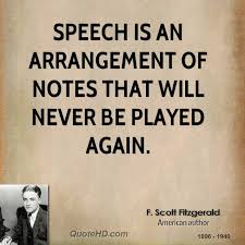 Speech Quotes New F Scott Fitzgerald Quotes QuoteHD