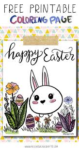 Free Printable Easter Coloring Page For