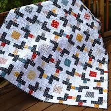 80 best Modern Quilt Patterns images on Pinterest | Books & Crossroads Lap Quilt Tutorial Adamdwight.com