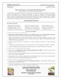 Private Chef Resume Sample Lovely 9 Best Hospitality Uniq Sevte