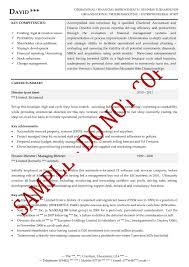 Executive Resume Example Fresh Executive Cv Examples The Store For