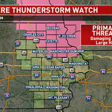 Severe Thunderstorm Watch issued ...