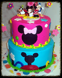 Minnie And Mickey Birthday Cakes Pastel De Minnie Mouse Pastel