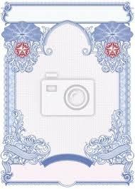Certificado En Blanco Pinturas Para La Pared Cuadros Vales