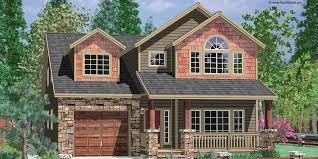 Northwest House Plans  Popular Home Styles Online Narrow lot house plans  house plans   tandem garage  house plans   bonus
